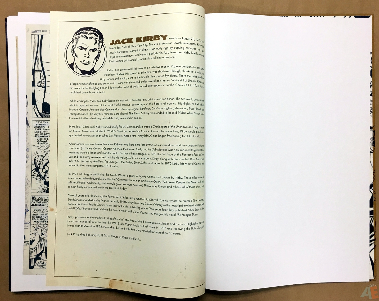 Jack Kirby's Fantastic Four The World's Greatest Artist's Edition 68