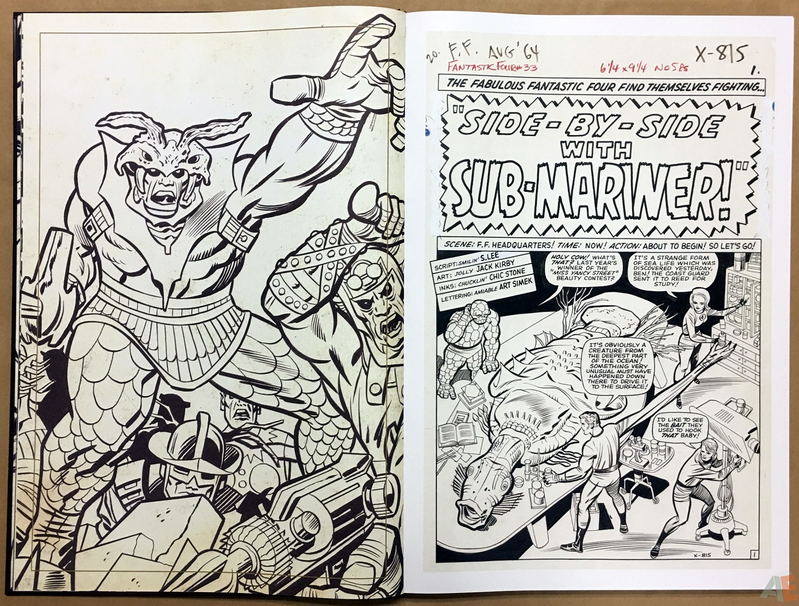 Jack Kirby's Fantastic Four The World's Greatest Artist's Edition 10