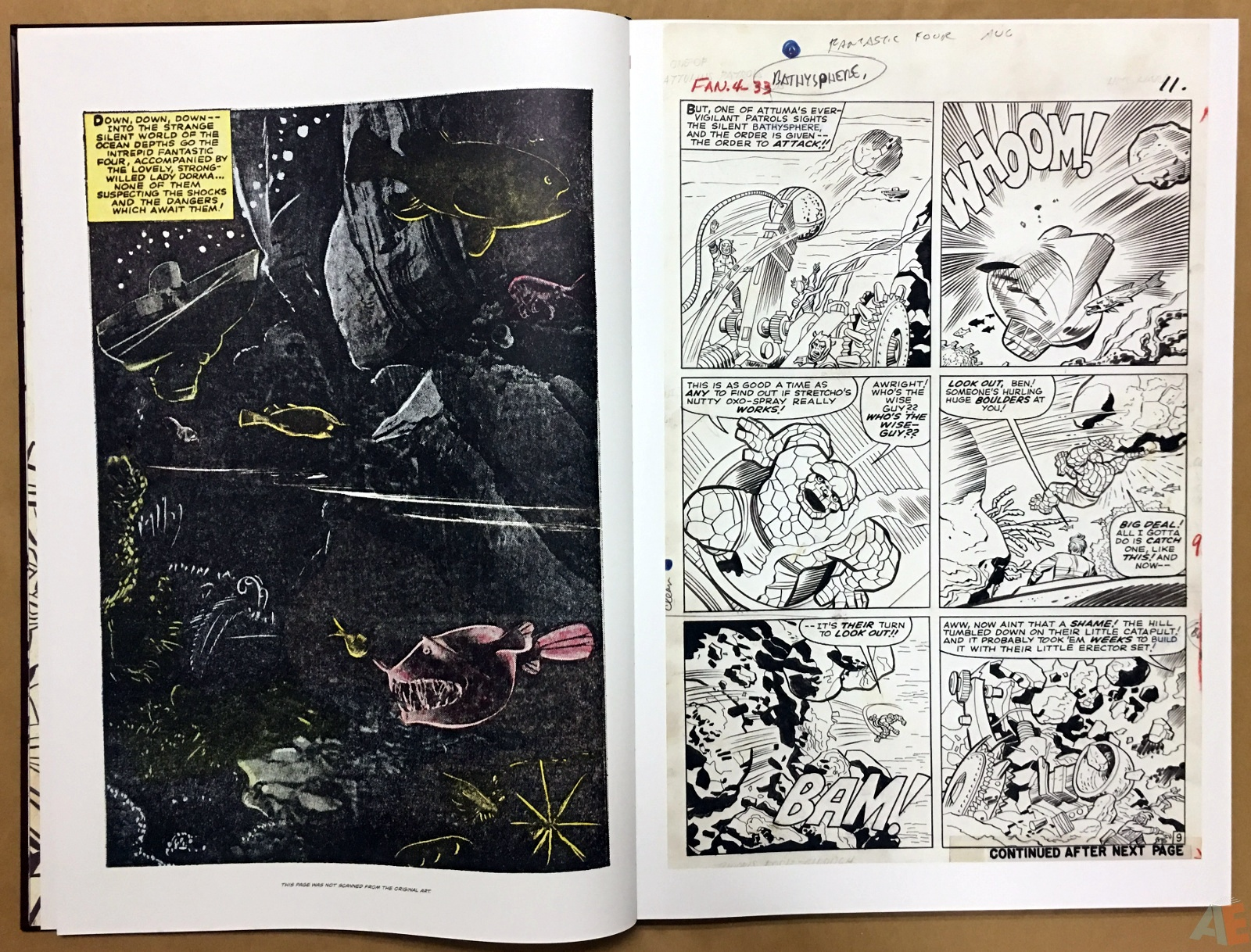 Jack Kirby's Fantastic Four The World's Greatest Artist's Edition 12