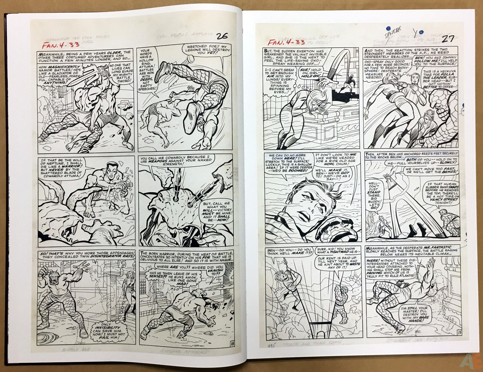 Jack Kirby's Fantastic Four The World's Greatest Artist's Edition 14