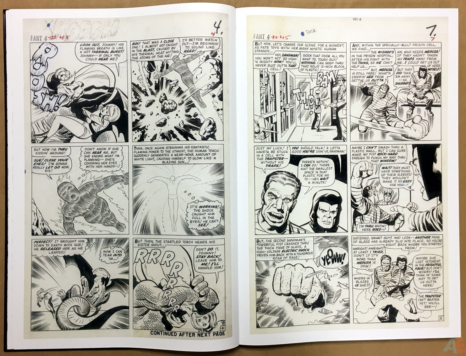 Jack Kirby's Fantastic Four The World's Greatest Artist's Edition 16
