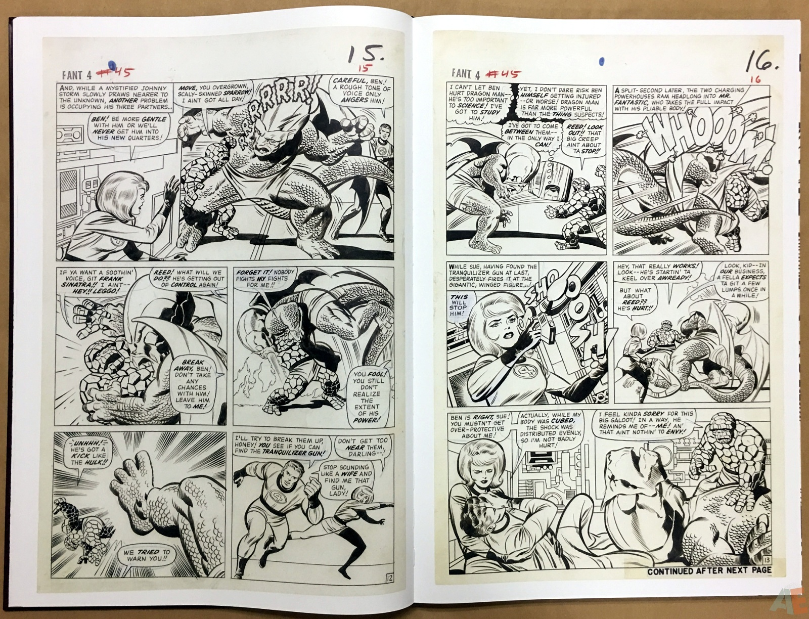 Jack Kirby's Fantastic Four The World's Greatest Artist's Edition 18
