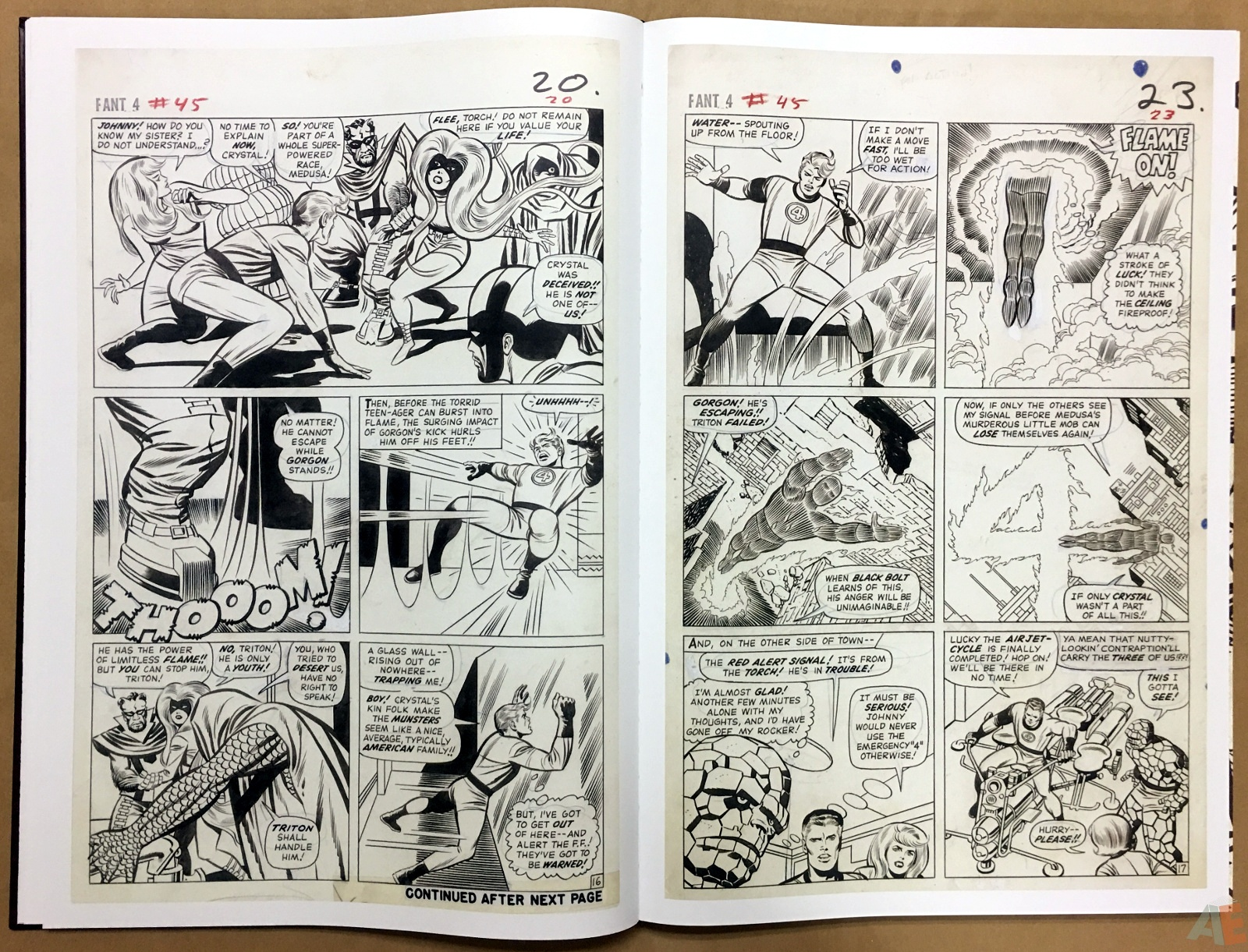 Jack Kirby's Fantastic Four The World's Greatest Artist's Edition 20