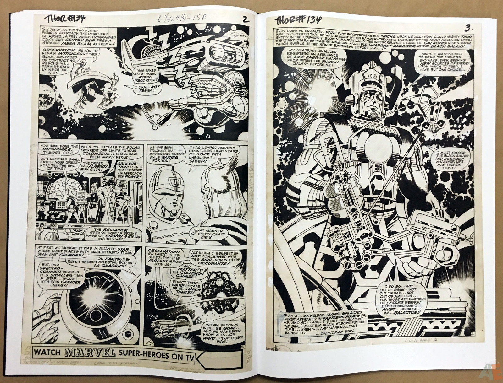 Jack Kirby's The Mighty Thor Artist's Edition 22