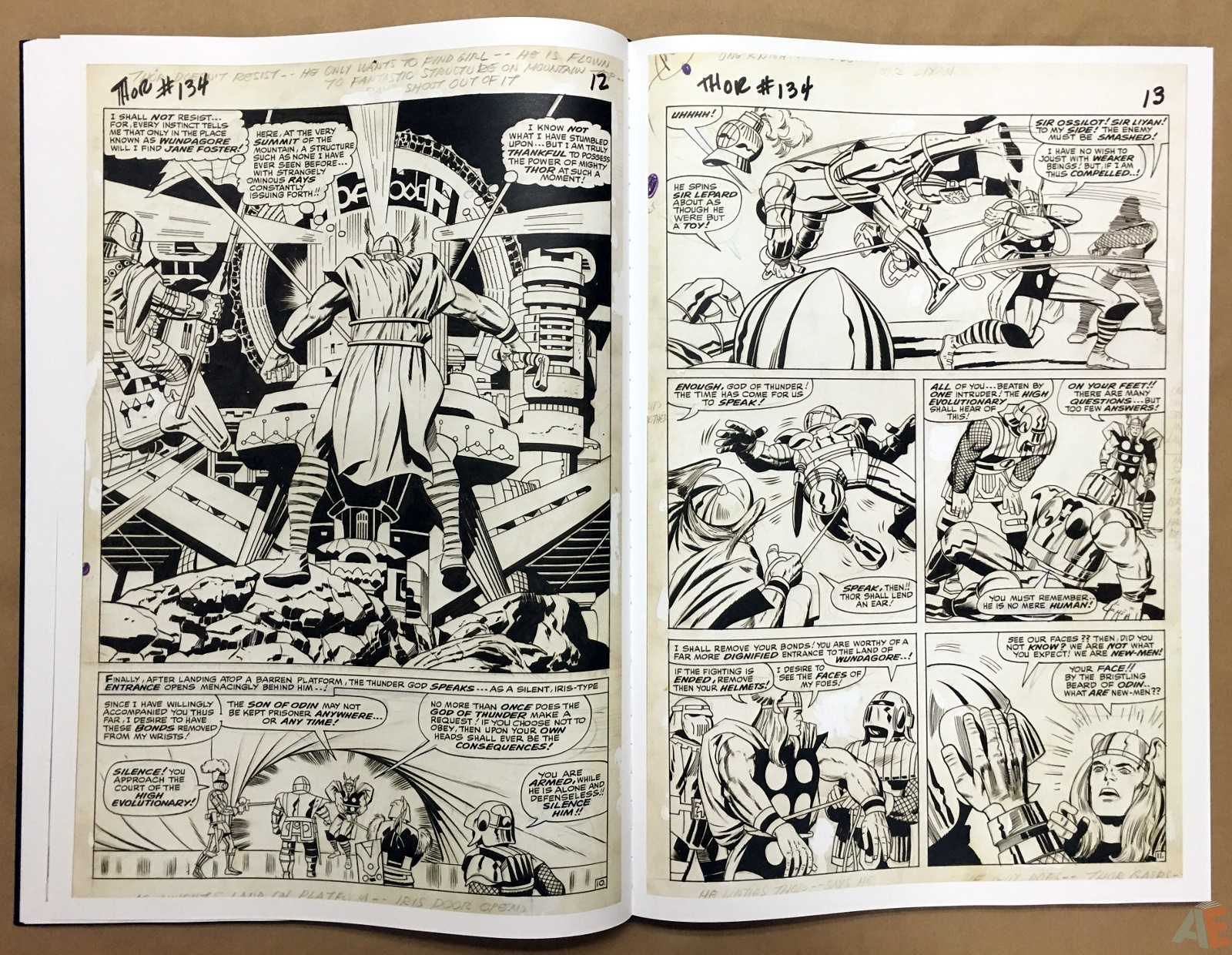 Jack Kirby's The Mighty Thor Artist's Edition 24