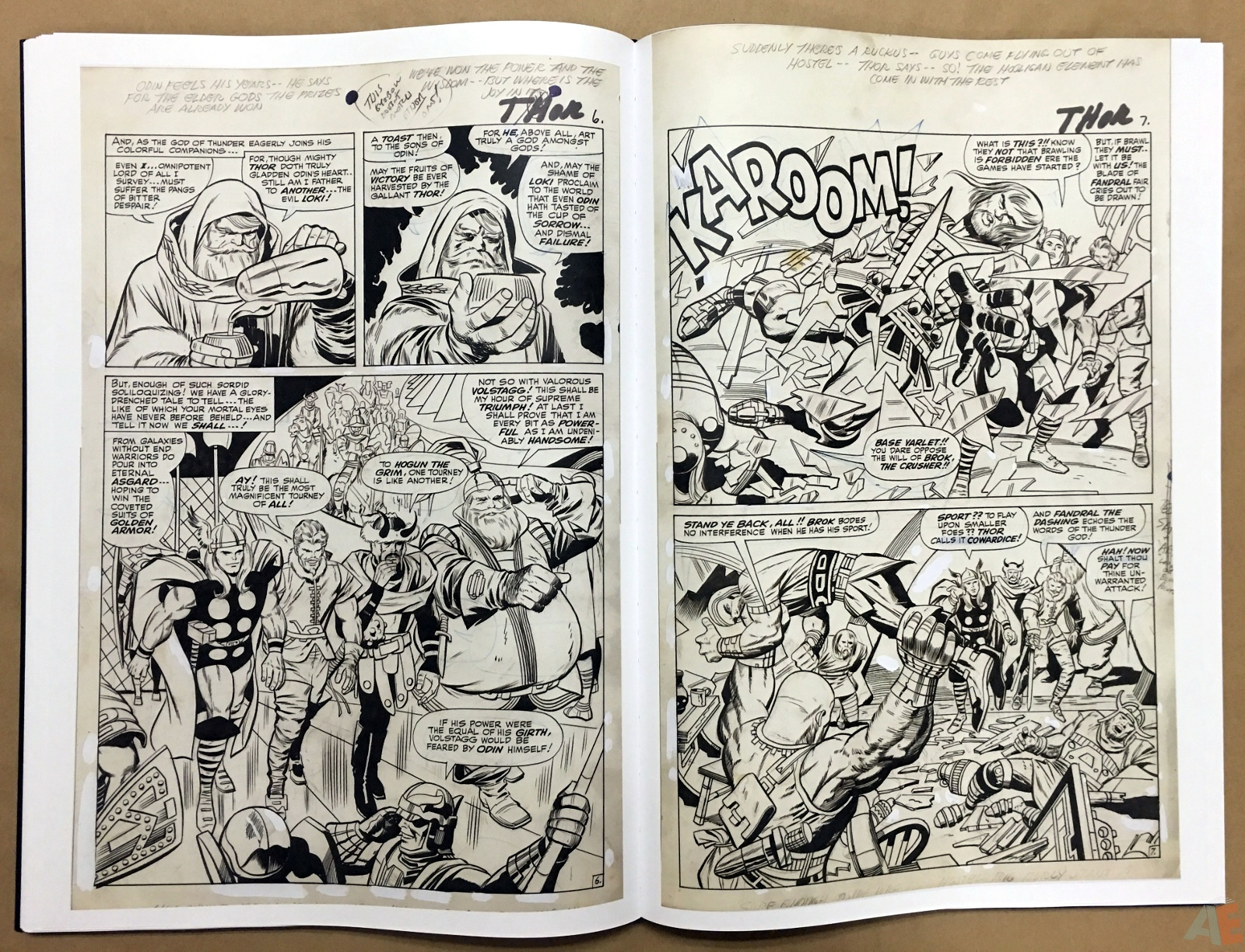Jack Kirby's The Mighty Thor Artist's Edition 28