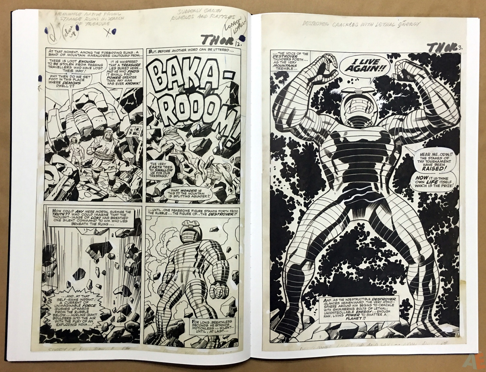 Jack Kirby's The Mighty Thor Artist's Edition 30