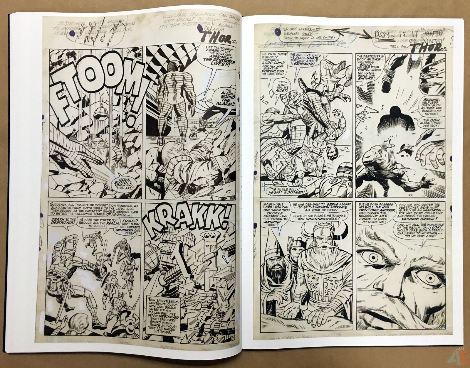 Jack Kirby's The Mighty Thor Artist's Edition 32
