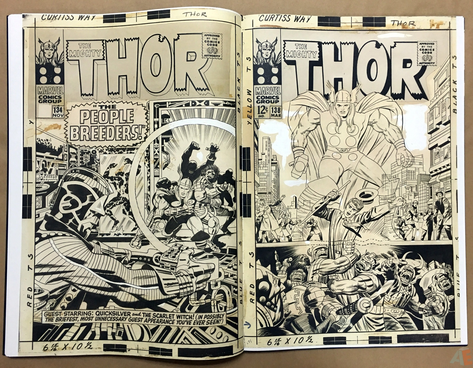 Jack Kirby's The Mighty Thor Artist's Edition 34
