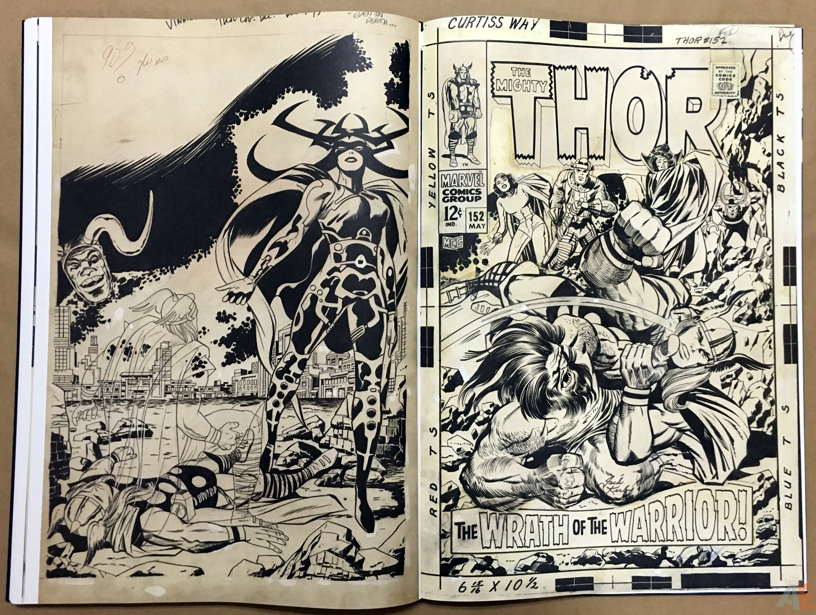 Jack Kirby's The Mighty Thor Artist's Edition 36