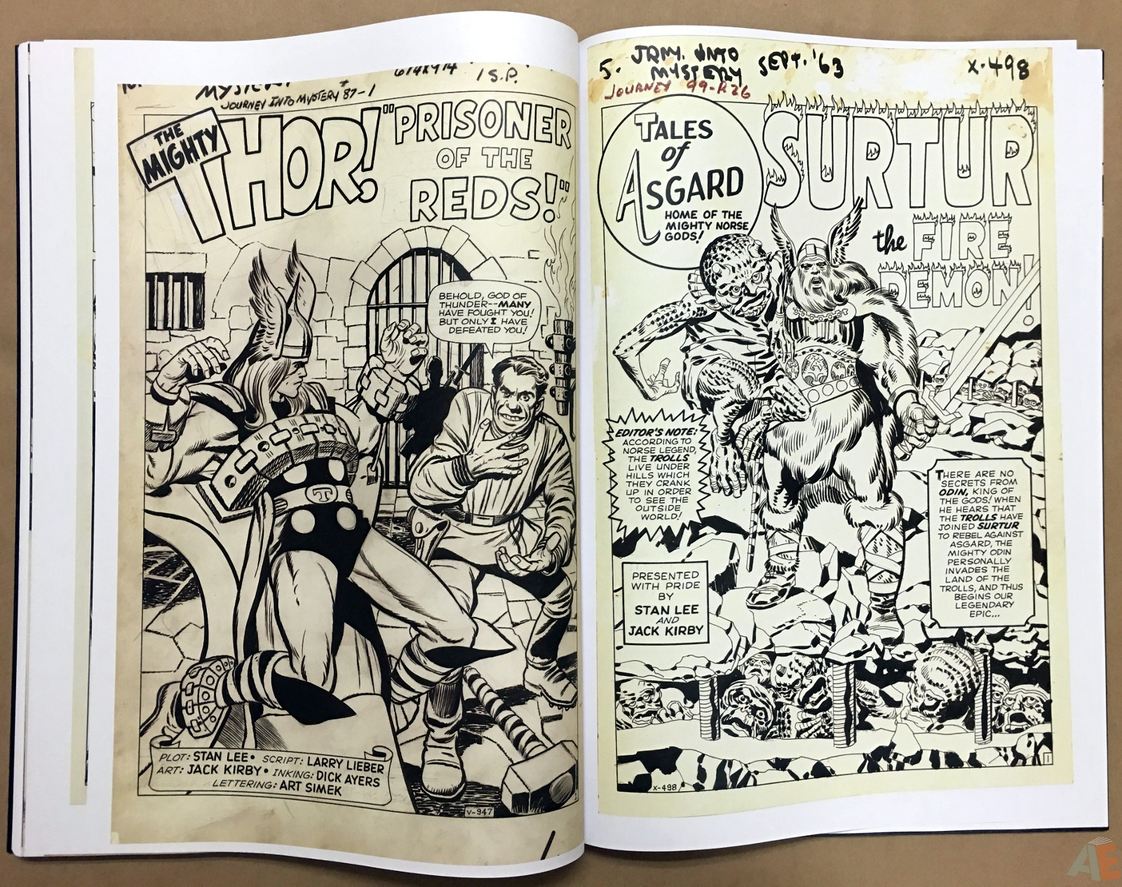 Jack Kirby's The Mighty Thor Artist's Edition 38