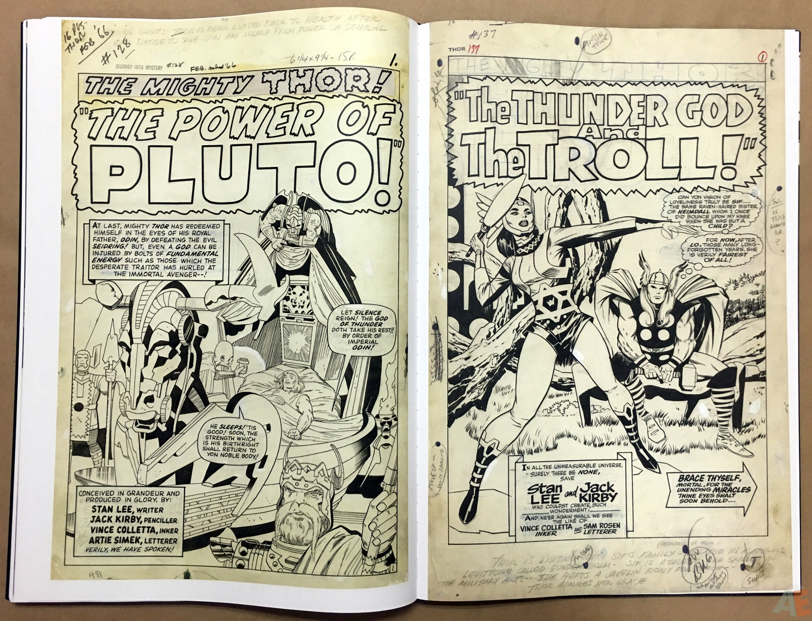 Jack Kirby's The Mighty Thor Artist's Edition 40