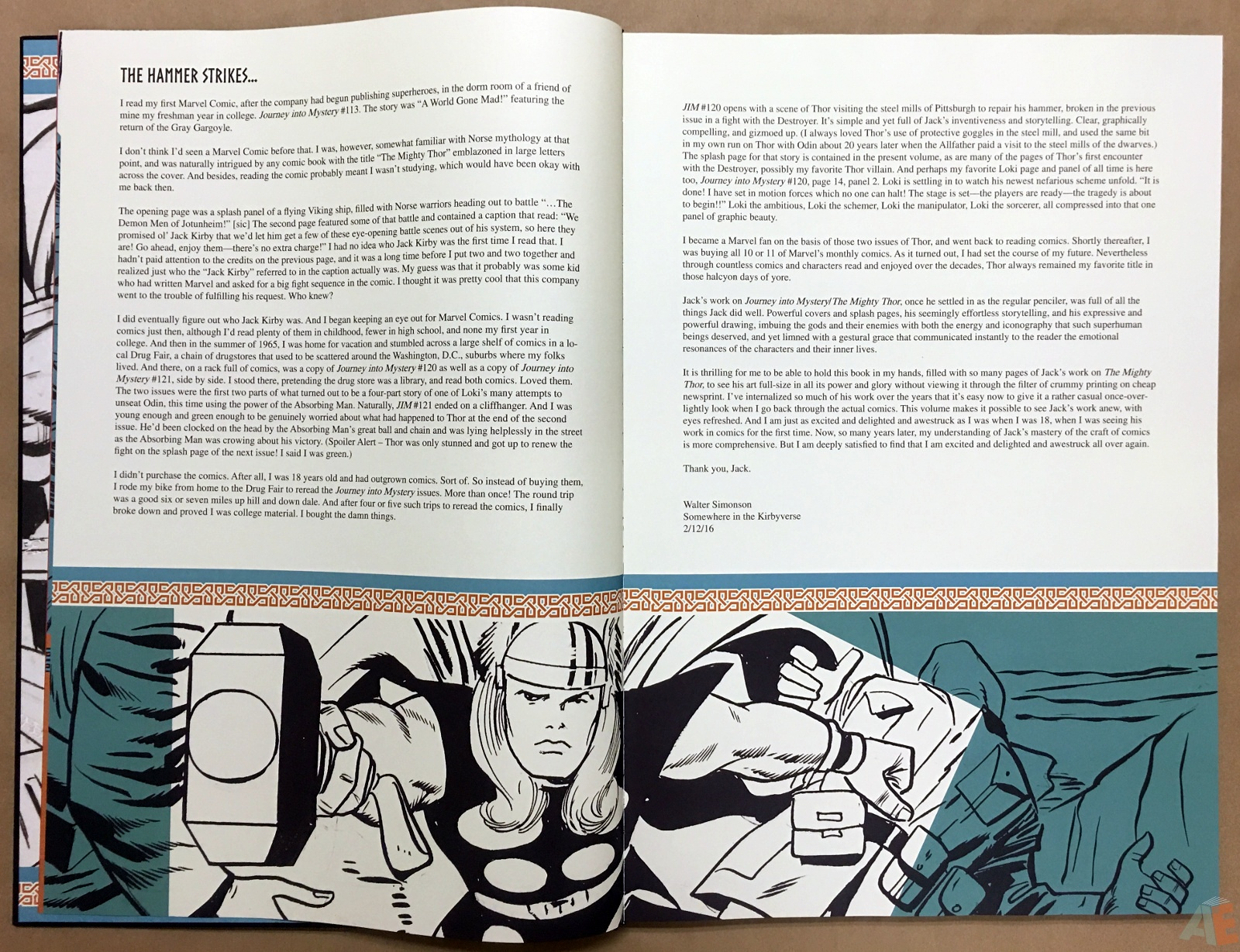 Jack Kirby's The Mighty Thor Artist's Edition 6