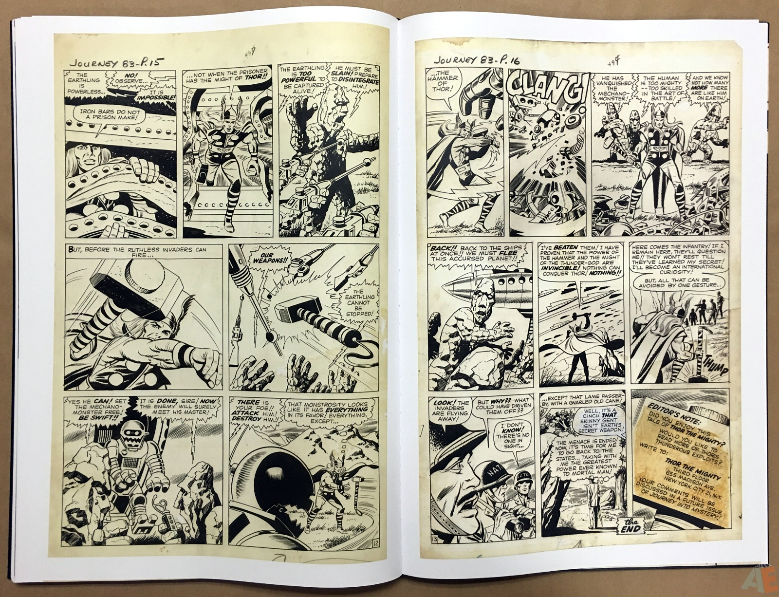 Jack Kirby's The Mighty Thor Artist's Edition 42
