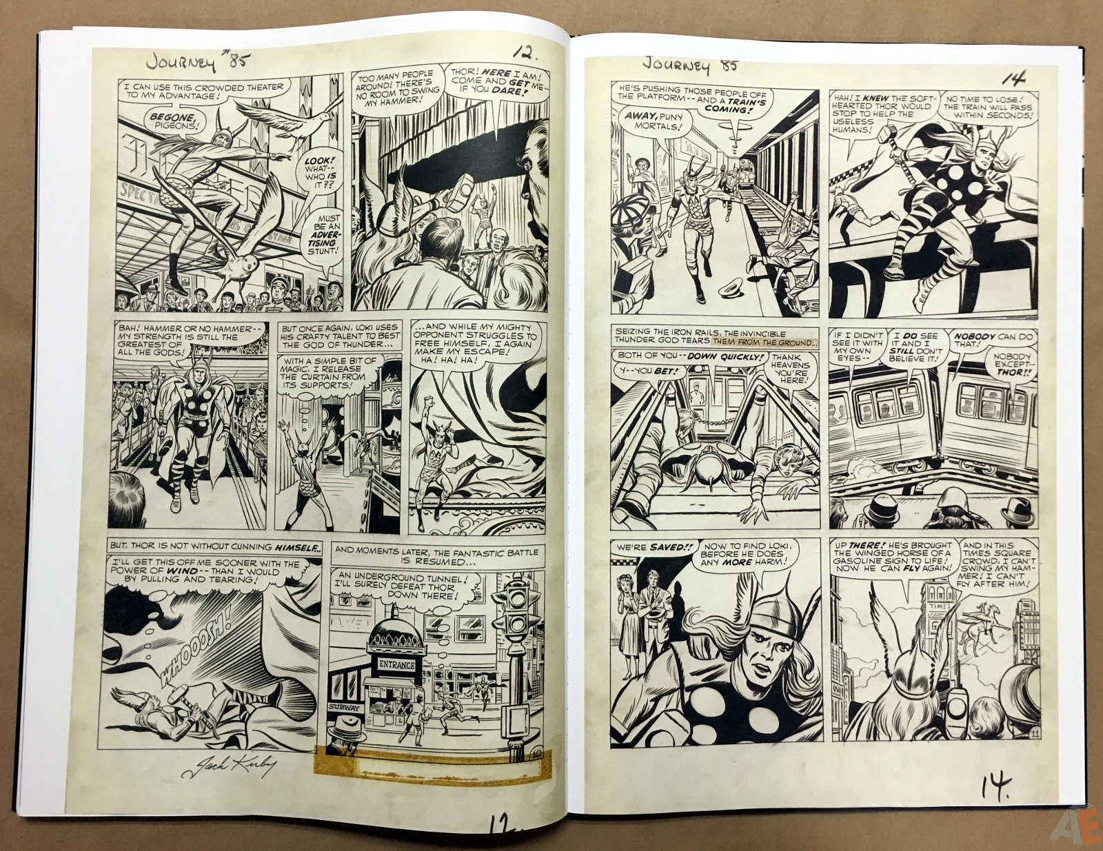 Jack Kirby's The Mighty Thor Artist's Edition 44