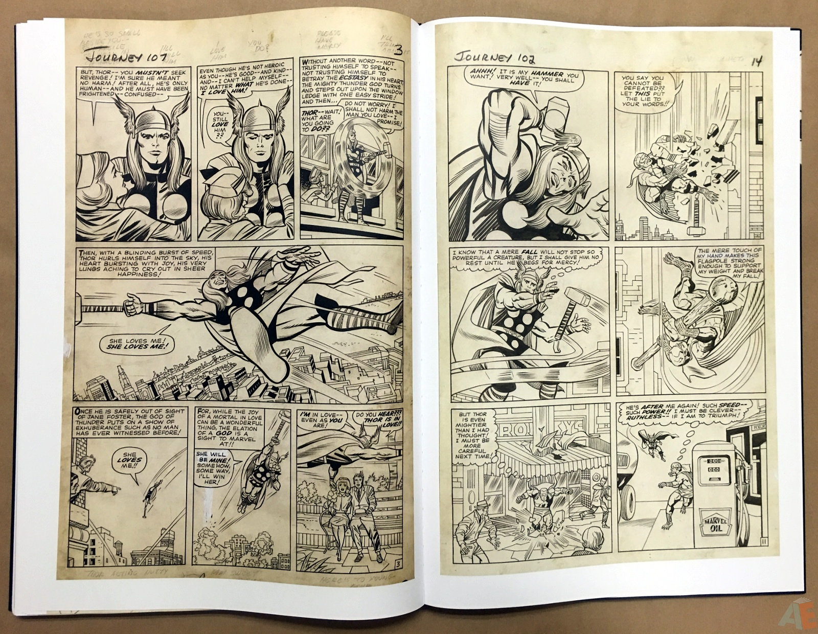 Jack Kirby's The Mighty Thor Artist's Edition 46