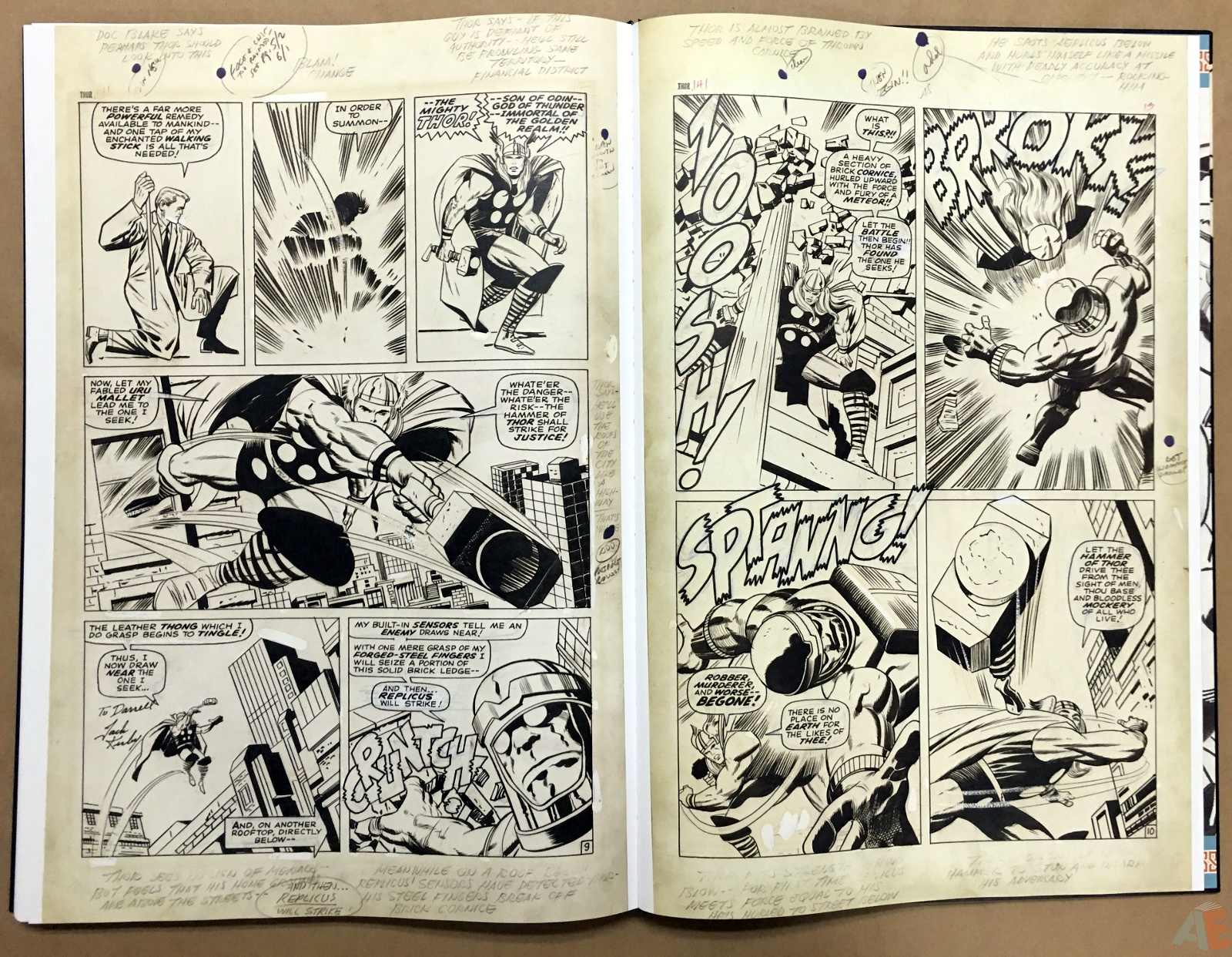 Jack Kirby's The Mighty Thor Artist's Edition 50