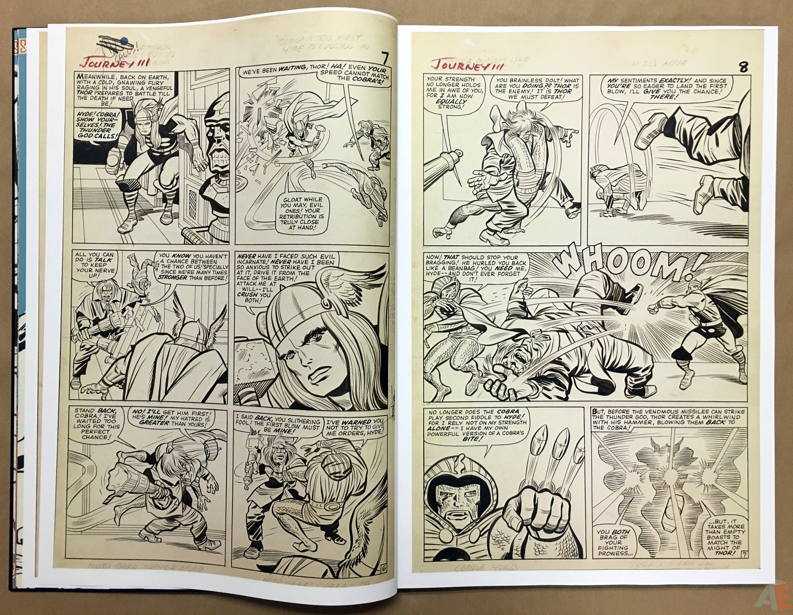 Jack Kirby's The Mighty Thor Artist's Edition 10