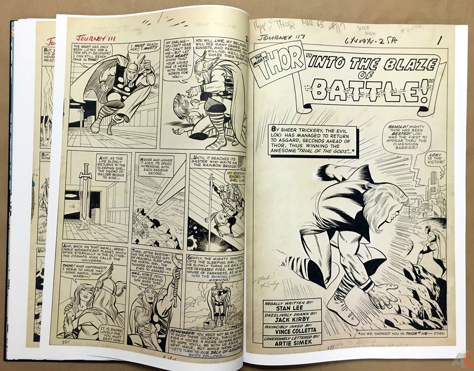 Jack Kirby's The Mighty Thor Artist's Edition 14