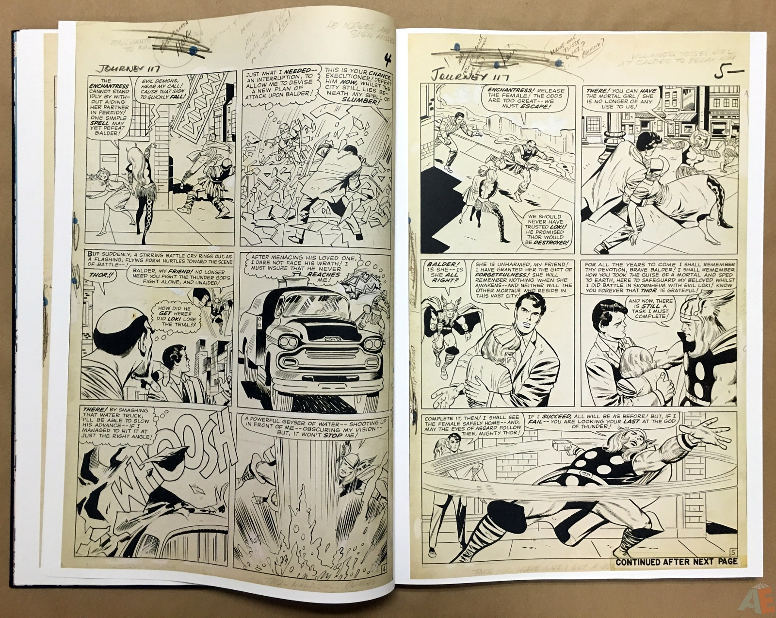 Jack Kirby's The Mighty Thor Artist's Edition 16