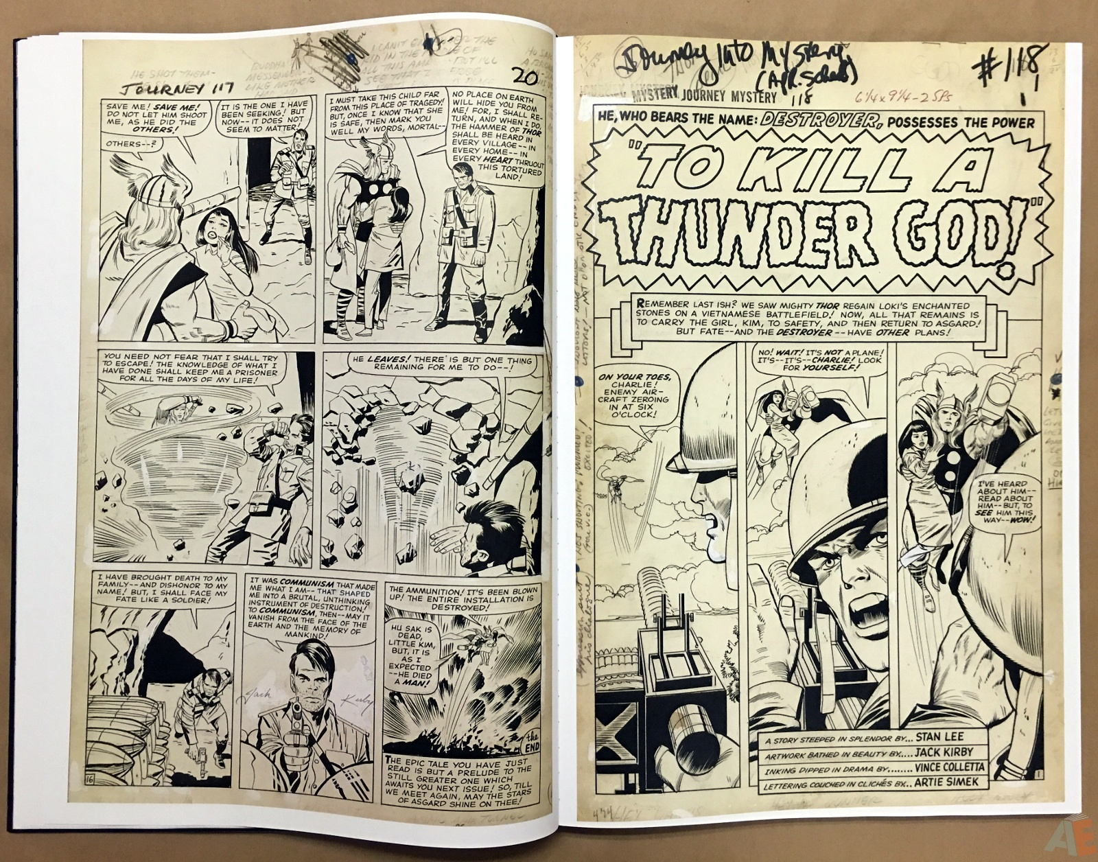 Jack Kirby's The Mighty Thor Artist's Edition 18