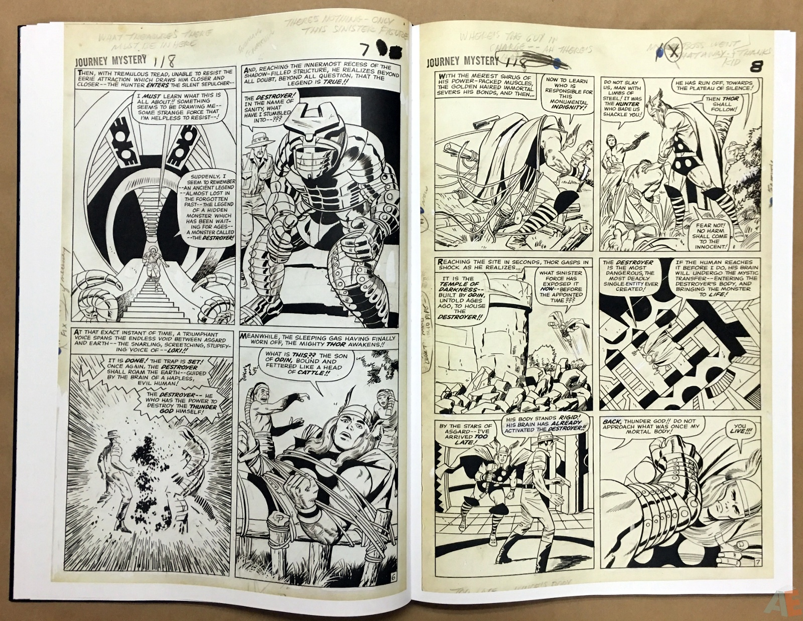 Jack Kirby's The Mighty Thor Artist's Edition 20