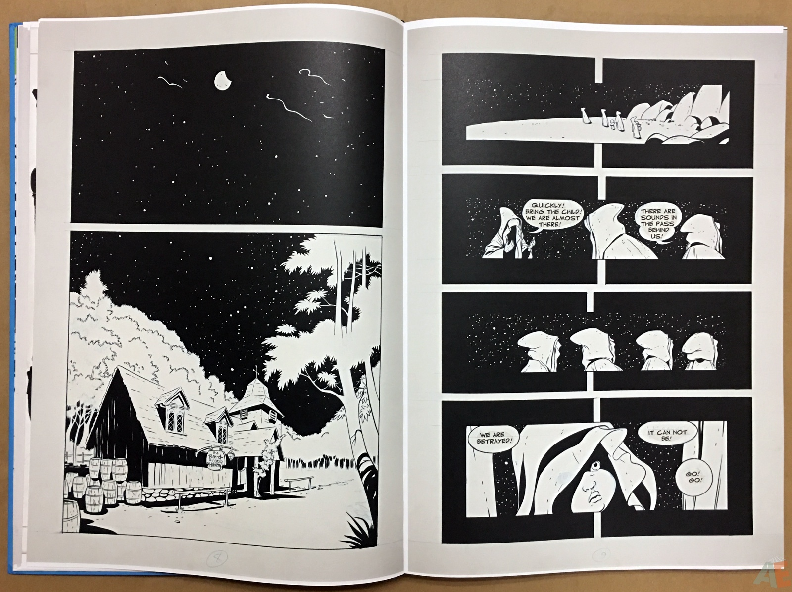 Jeff Smith's Bone: The Great Cow Race Artist's Edition 14