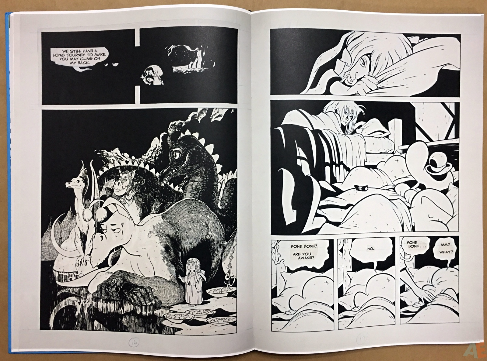 Jeff Smith's Bone: The Great Cow Race Artist's Edition 16