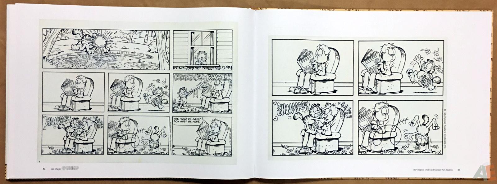Jim Davis' Garfield: The Original Daily and Sunday Art Archive