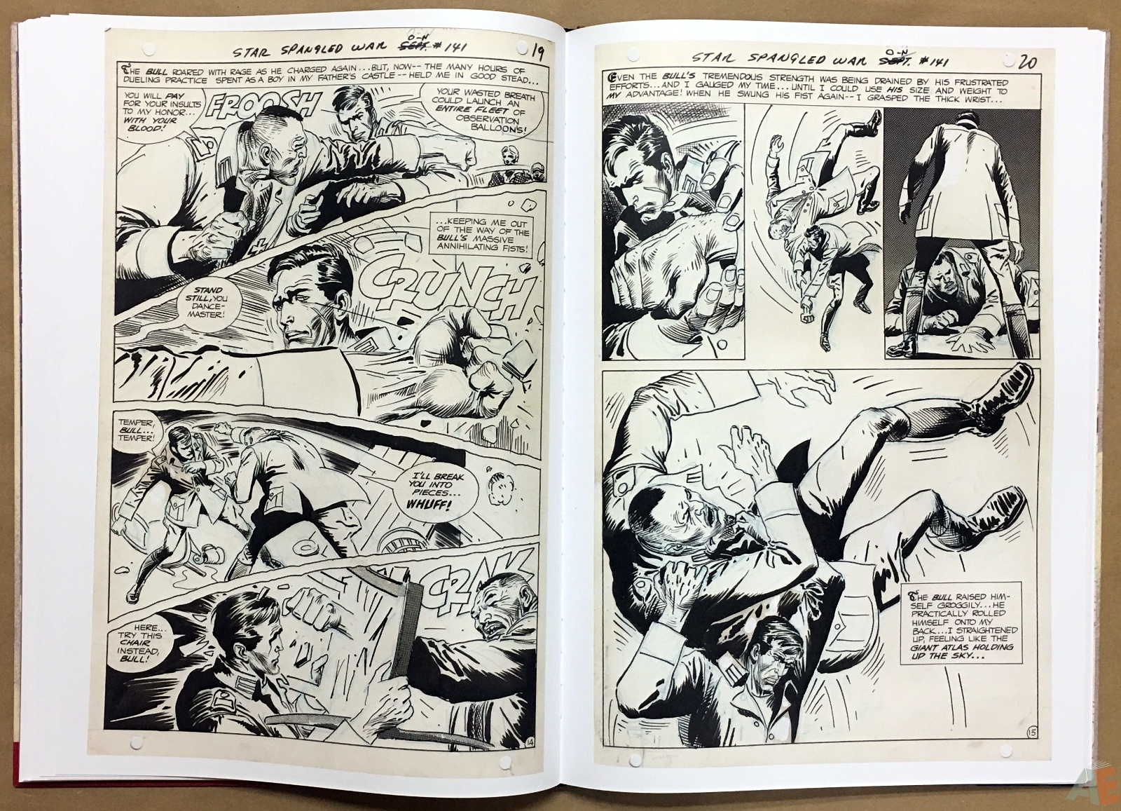 Joe Kubert Enemy Ace Artist's Edition 24