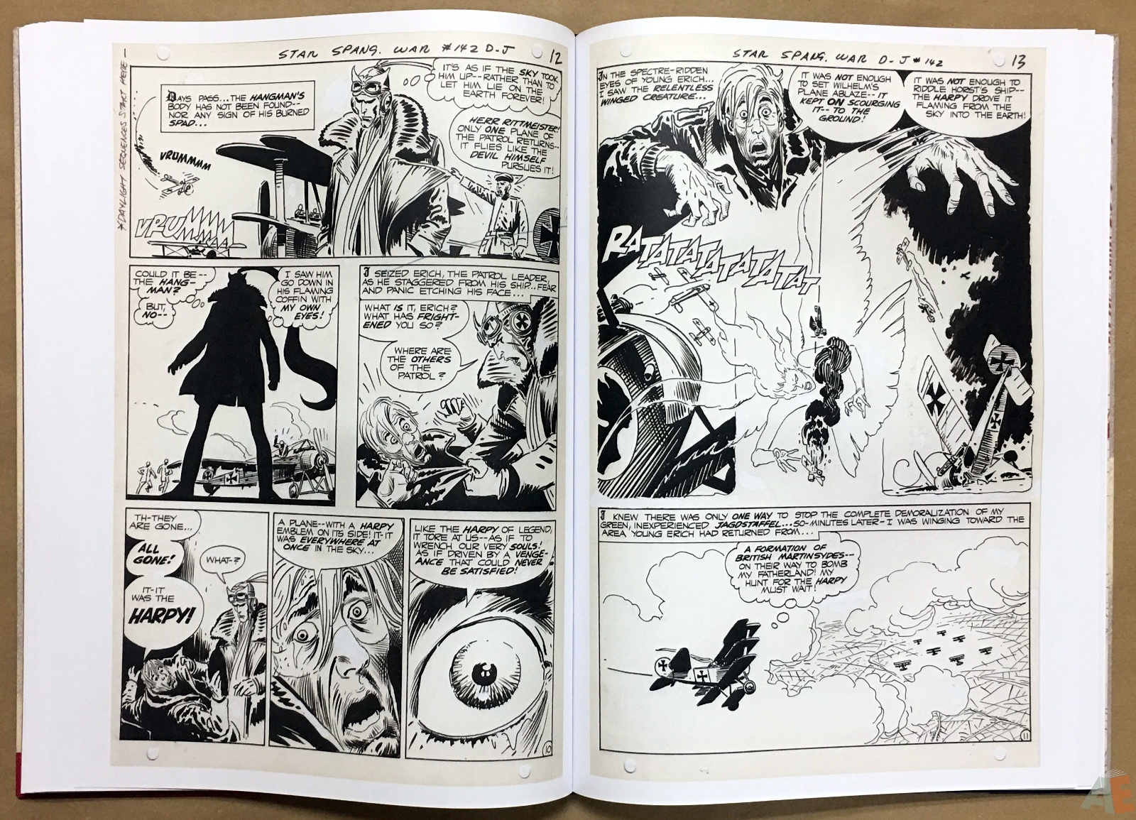 Joe Kubert Enemy Ace Artist's Edition 28
