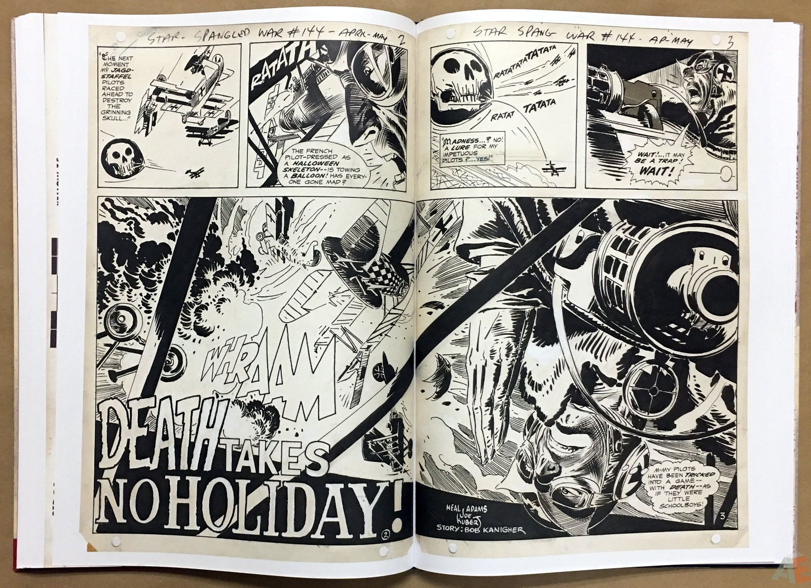 Joe Kubert Enemy Ace Artist's Edition 30
