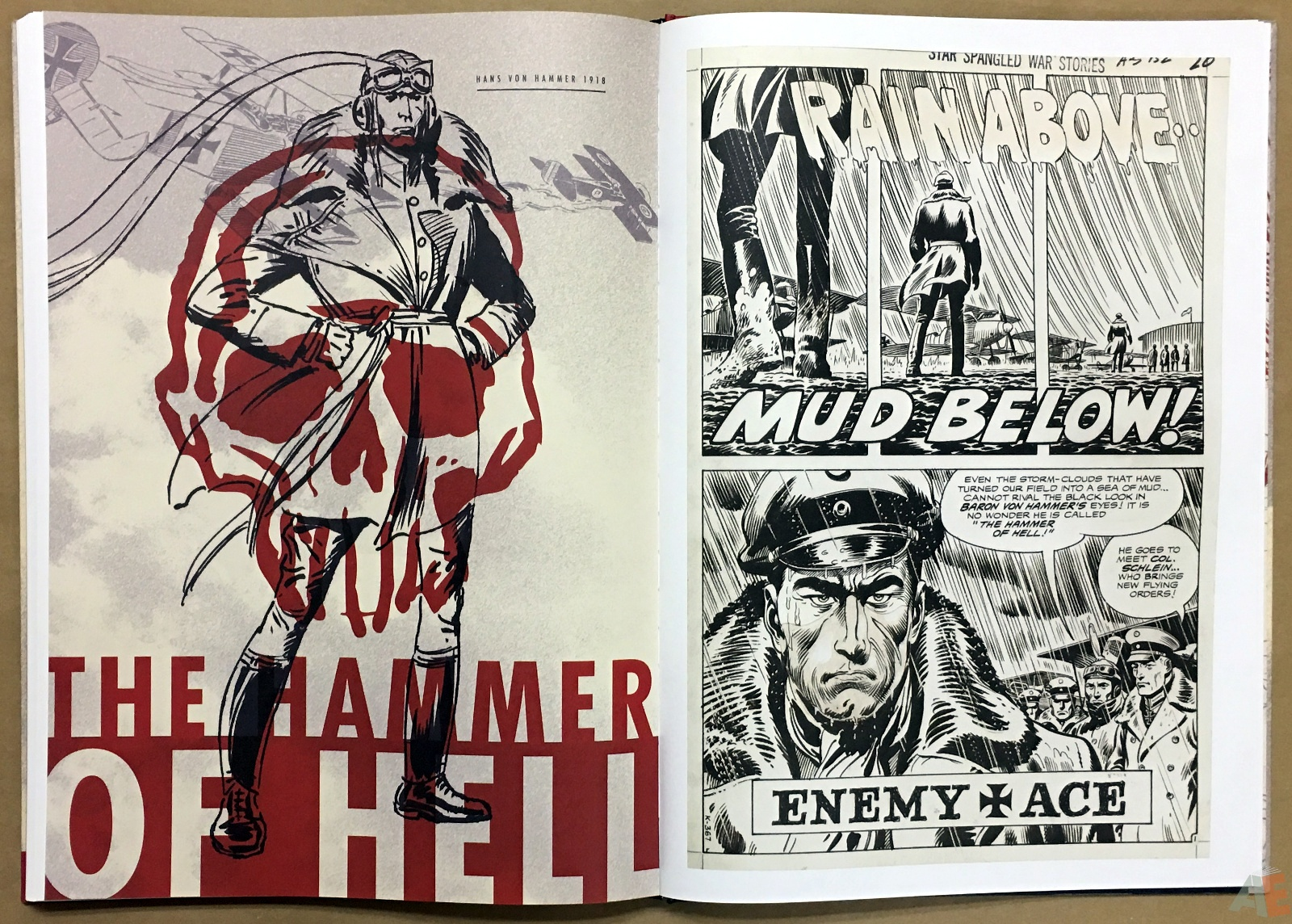 Joe Kubert Enemy Ace Artist's Edition 36