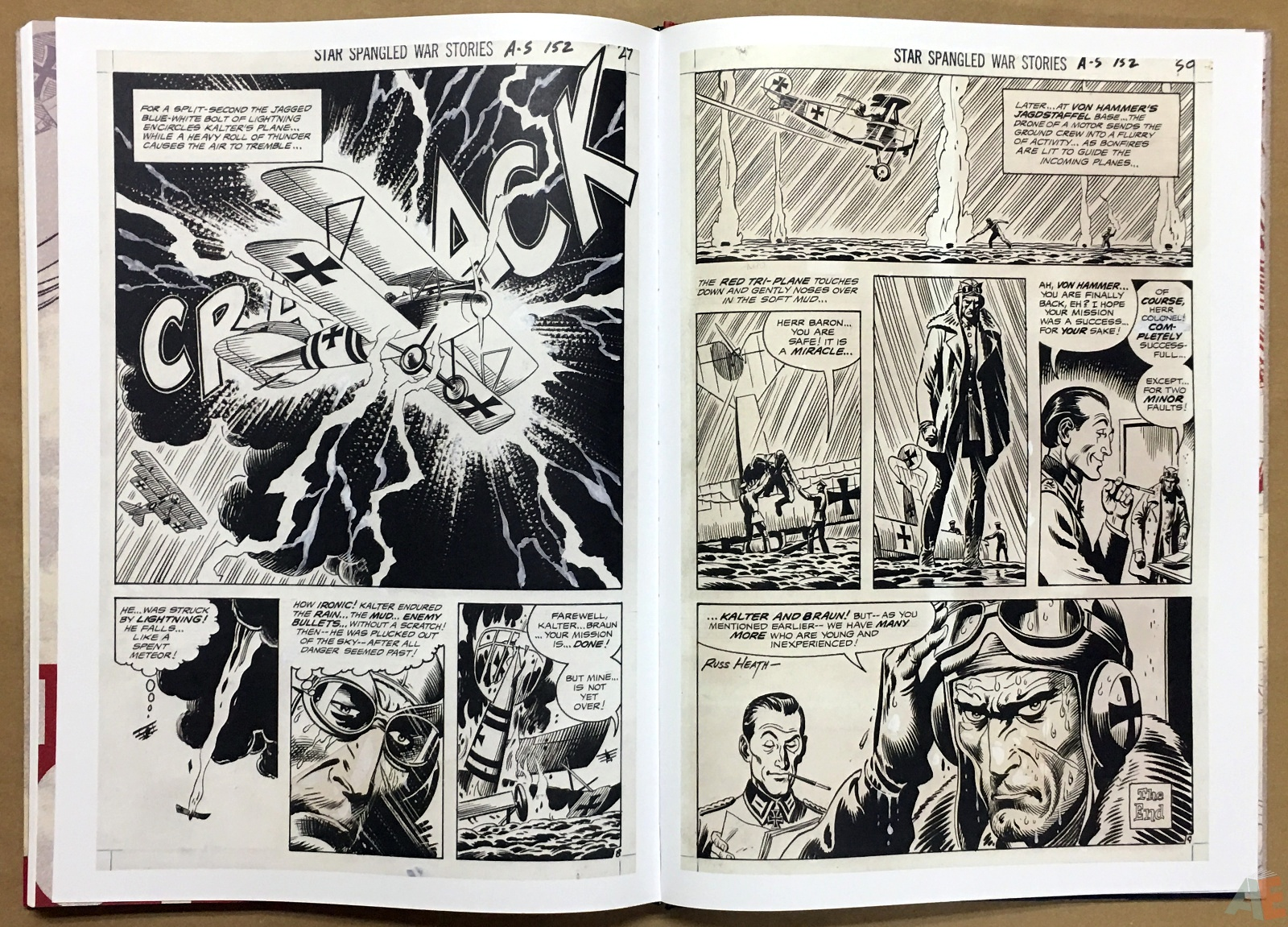 Joe Kubert Enemy Ace Artist's Edition 38