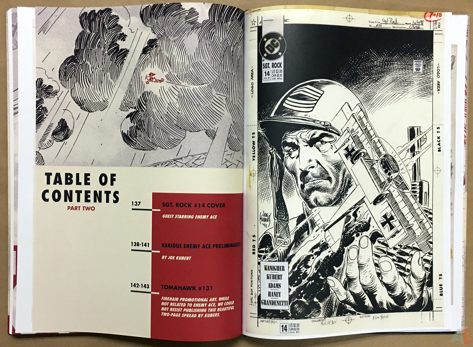Joe Kubert Enemy Ace Artist's Edition 40
