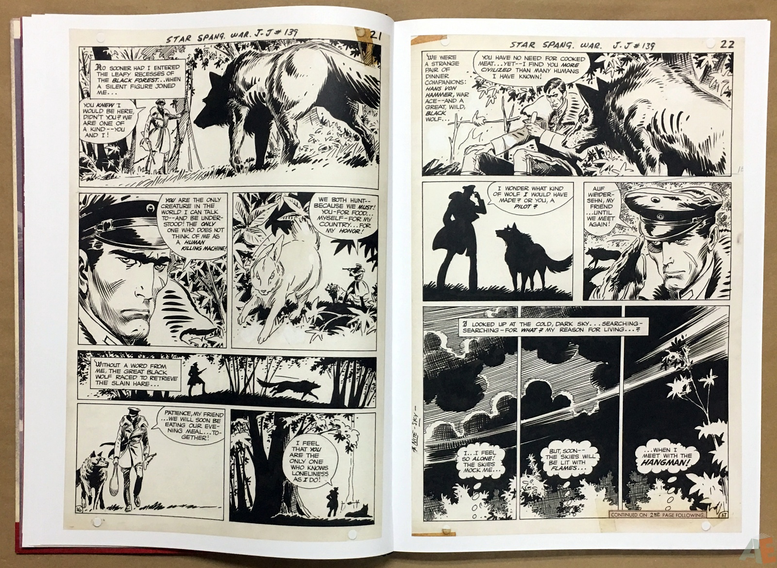 Joe Kubert Enemy Ace Artist's Edition 12