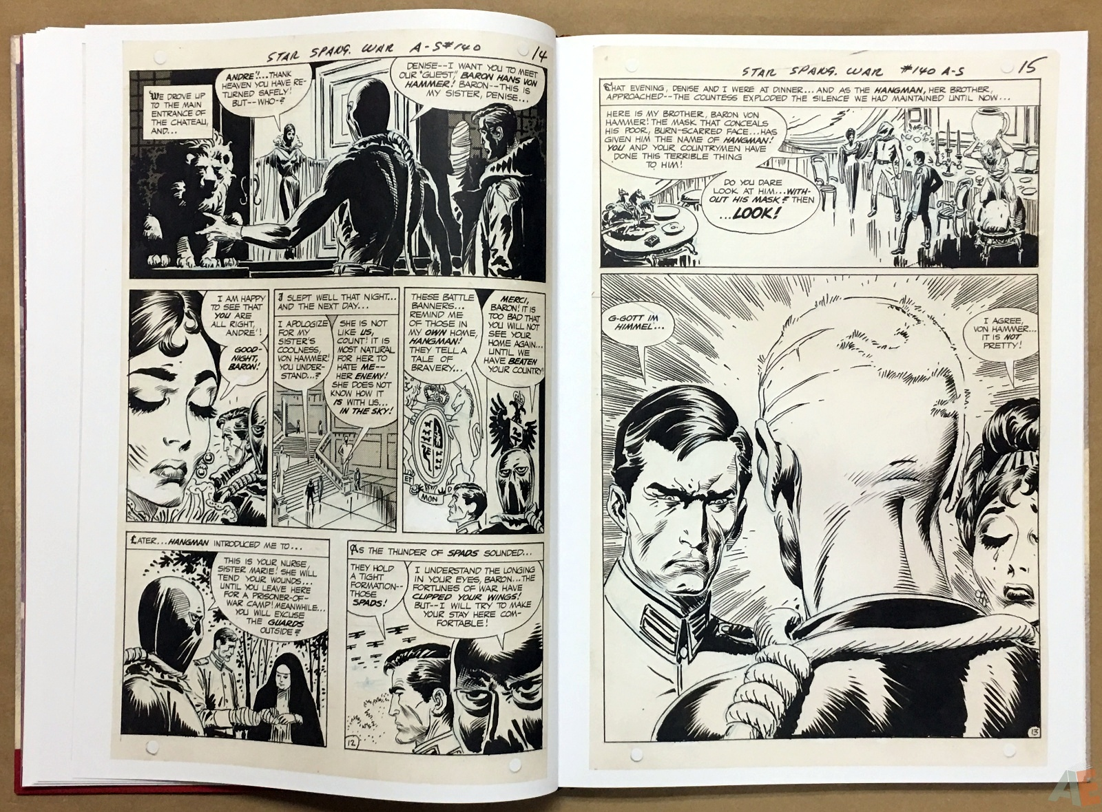 Joe Kubert Enemy Ace Artist's Edition 18