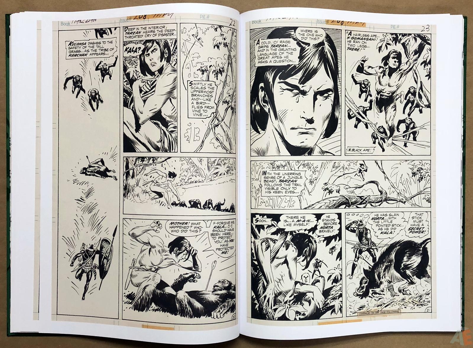 Joe Kubert's Tarzan of the Apes Artist's Edition 22