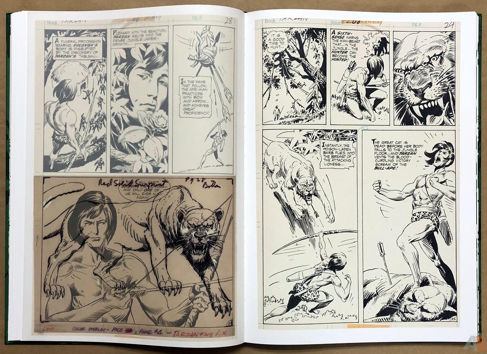 Joe Kubert's Tarzan of the Apes Artist's Edition 24