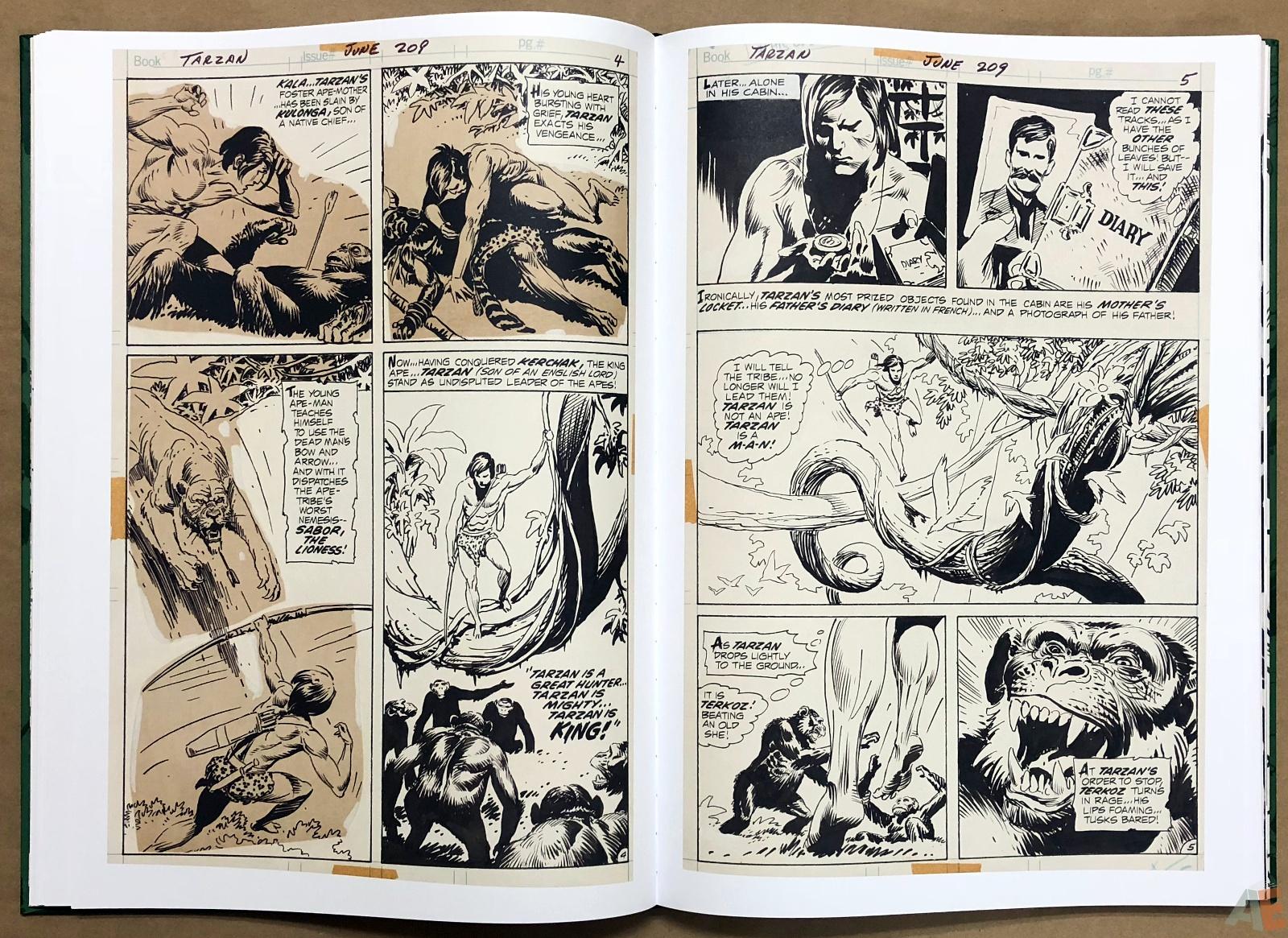 Joe Kubert's Tarzan of the Apes Artist's Edition 26