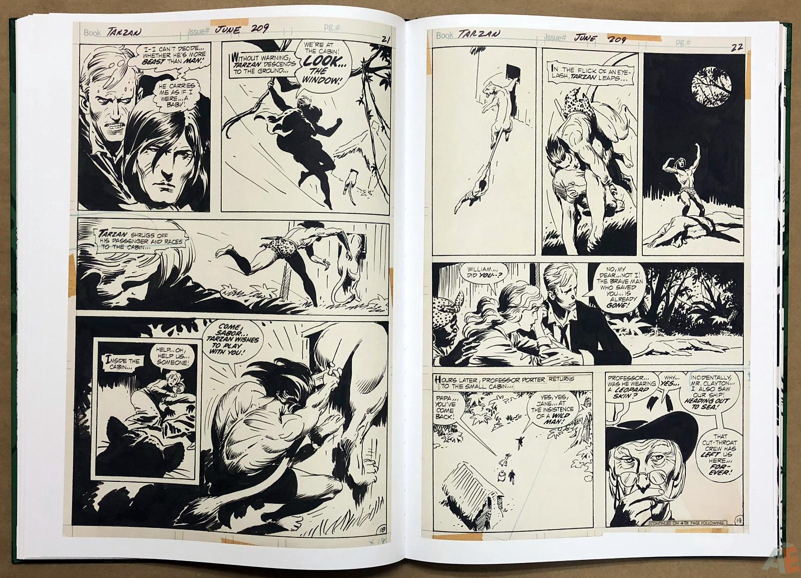 Joe Kubert's Tarzan of the Apes Artist's Edition 28