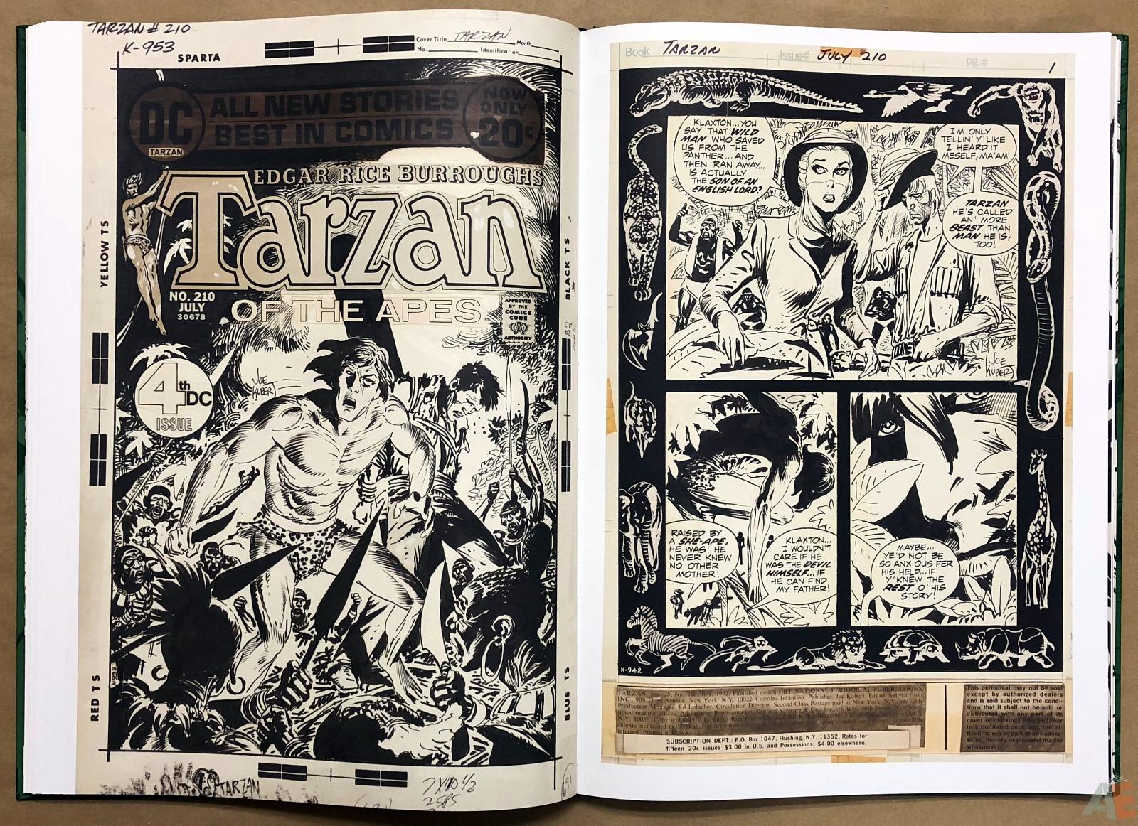 Joe Kubert's Tarzan of the Apes Artist's Edition 30