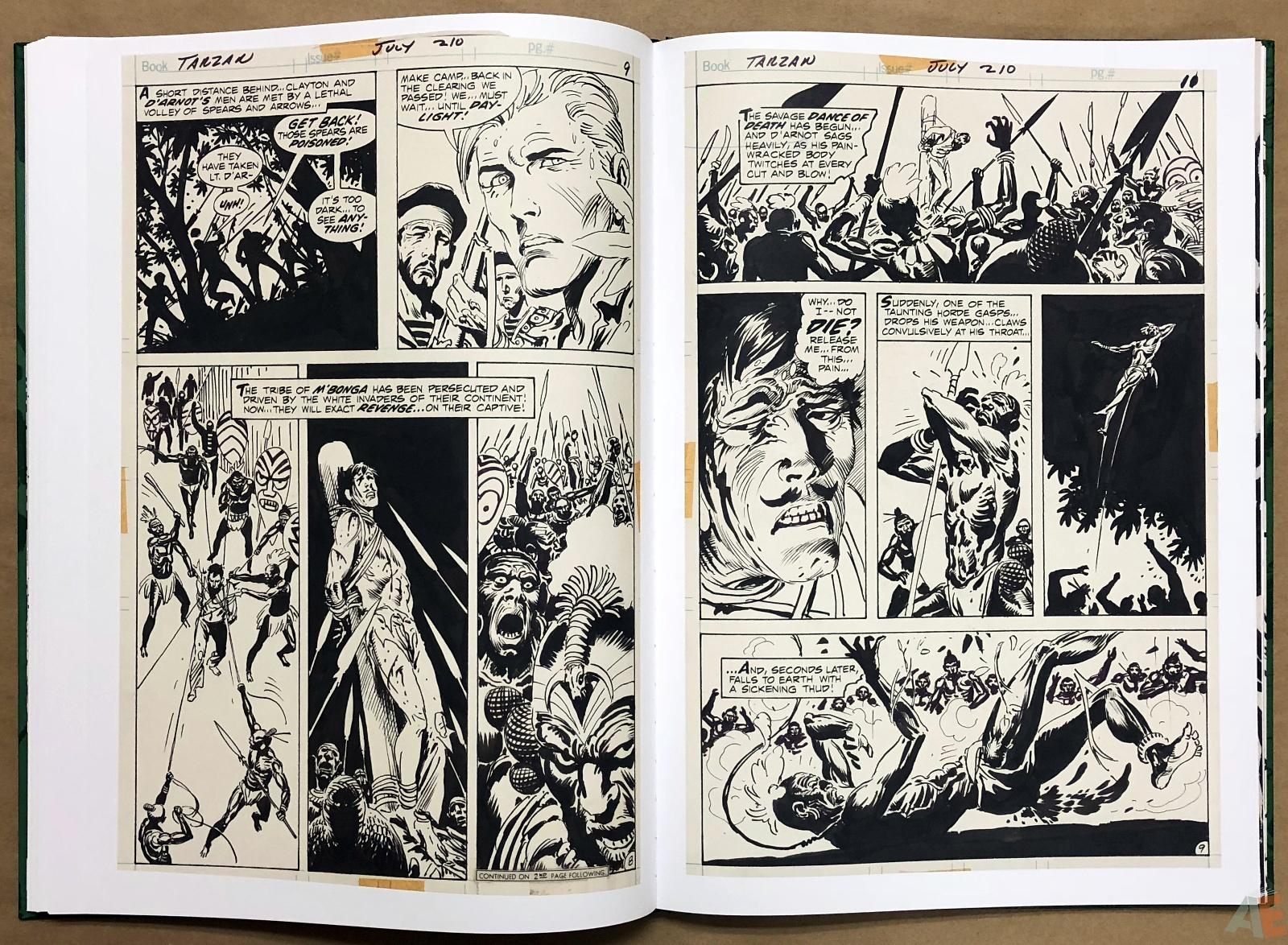 Joe Kubert's Tarzan of the Apes Artist's Edition 32