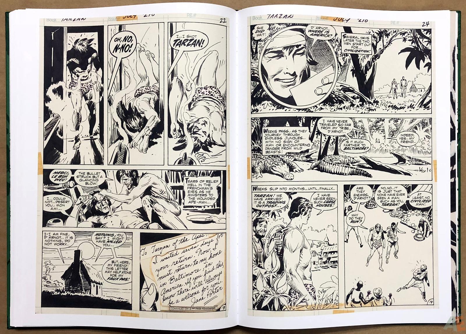 Joe Kubert's Tarzan of the Apes Artist's Edition 34