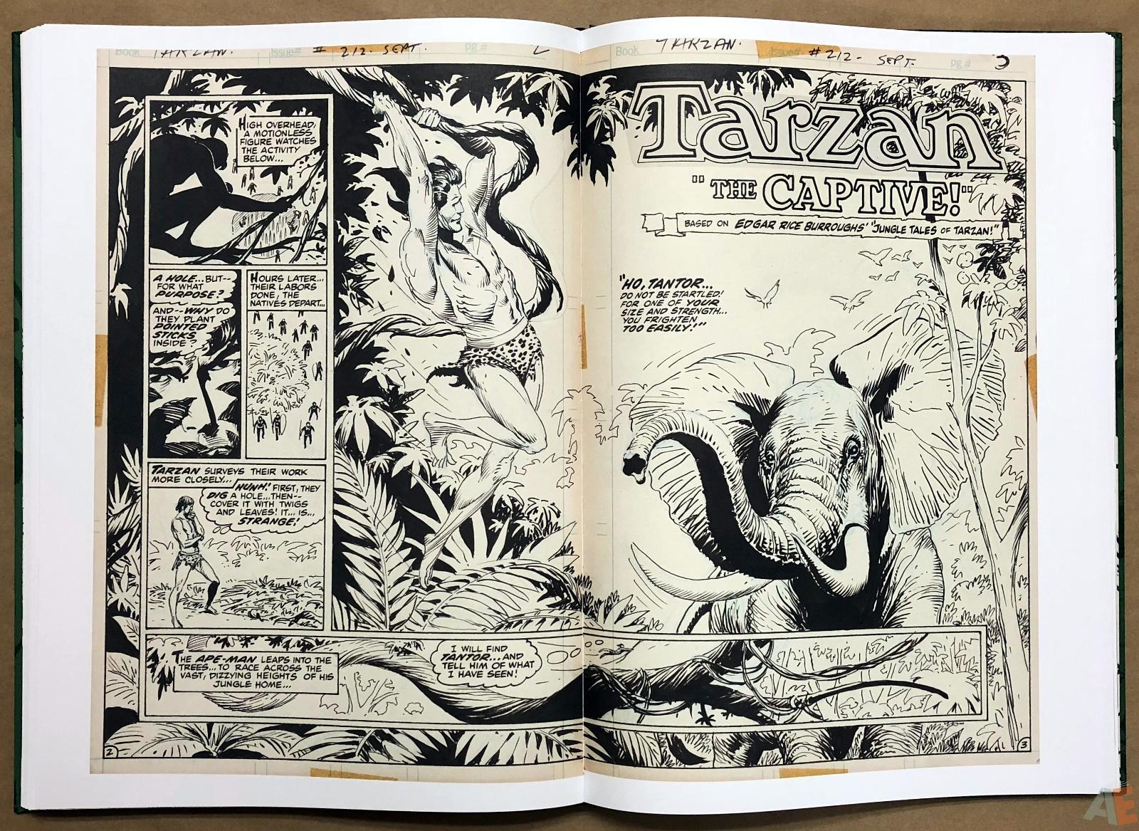 Joe Kubert's Tarzan of the Apes Artist's Edition 38