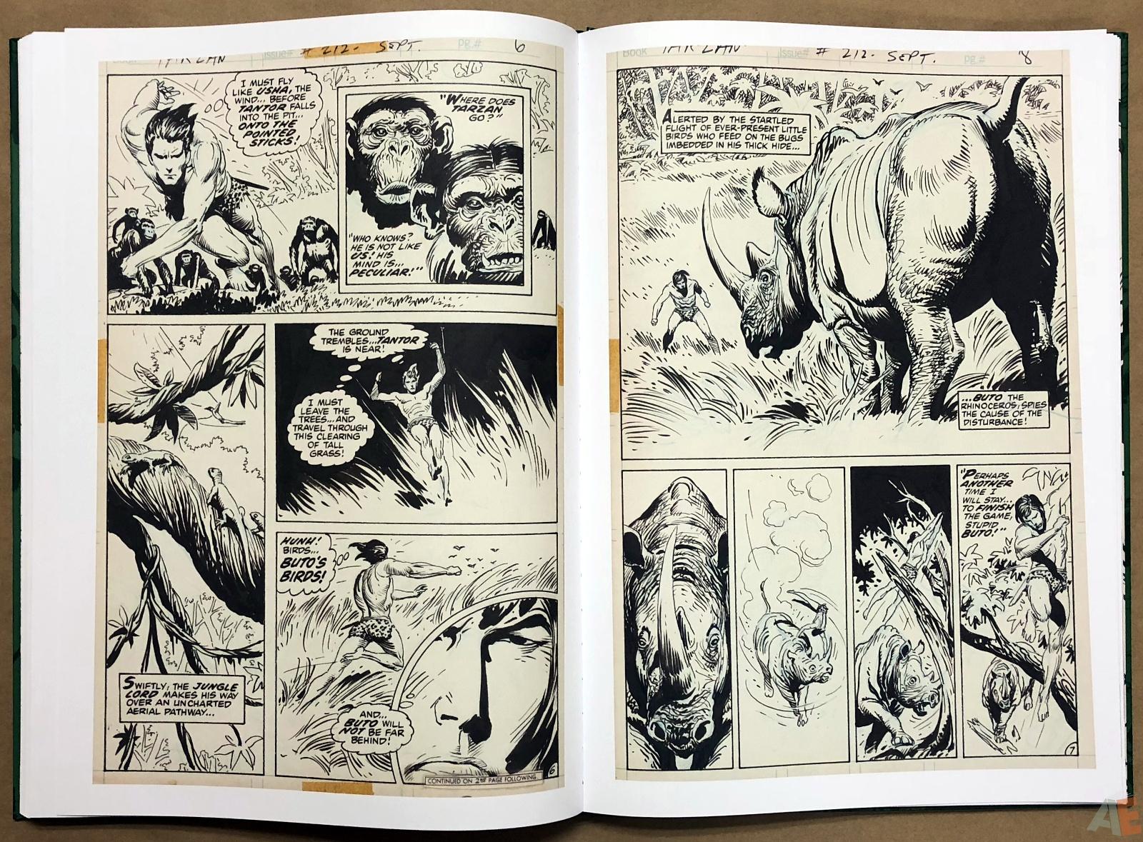 Joe Kubert's Tarzan of the Apes Artist's Edition 40