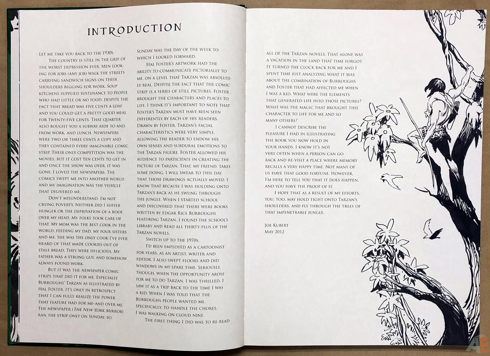 Joe Kubert's Tarzan of the Apes Artist's Edition 6