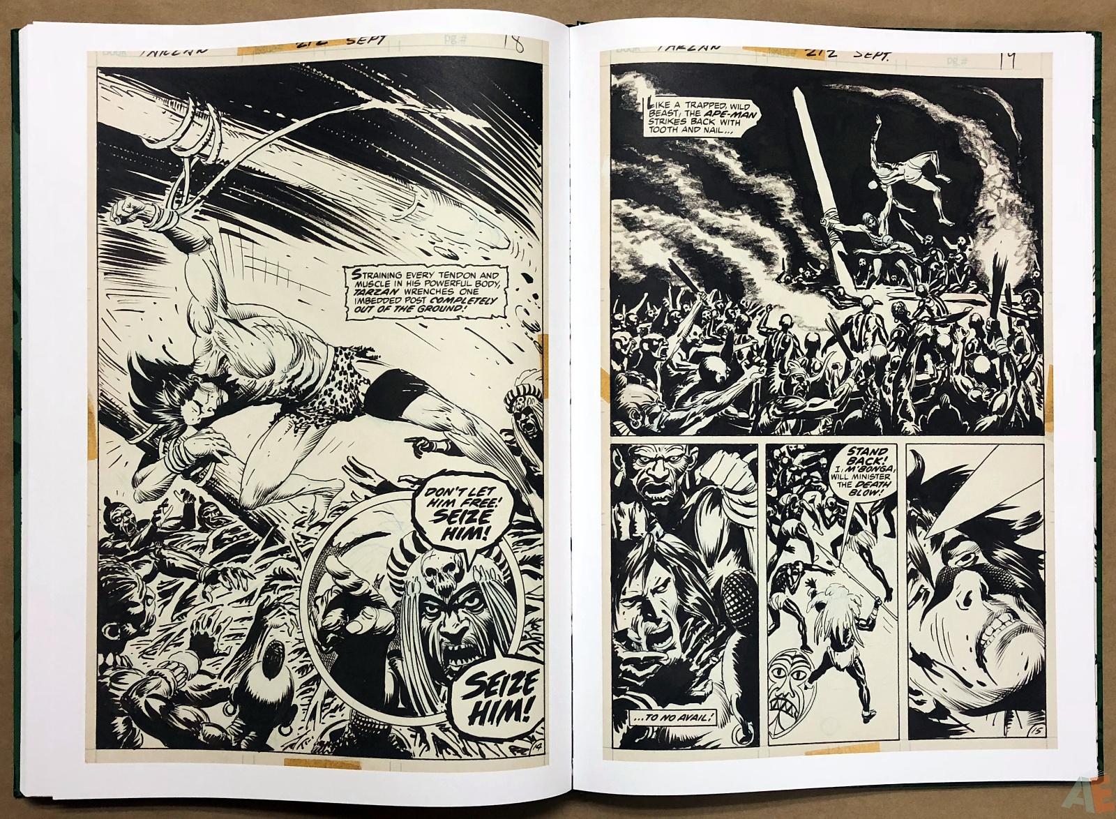 Joe Kubert's Tarzan of the Apes Artist's Edition 42