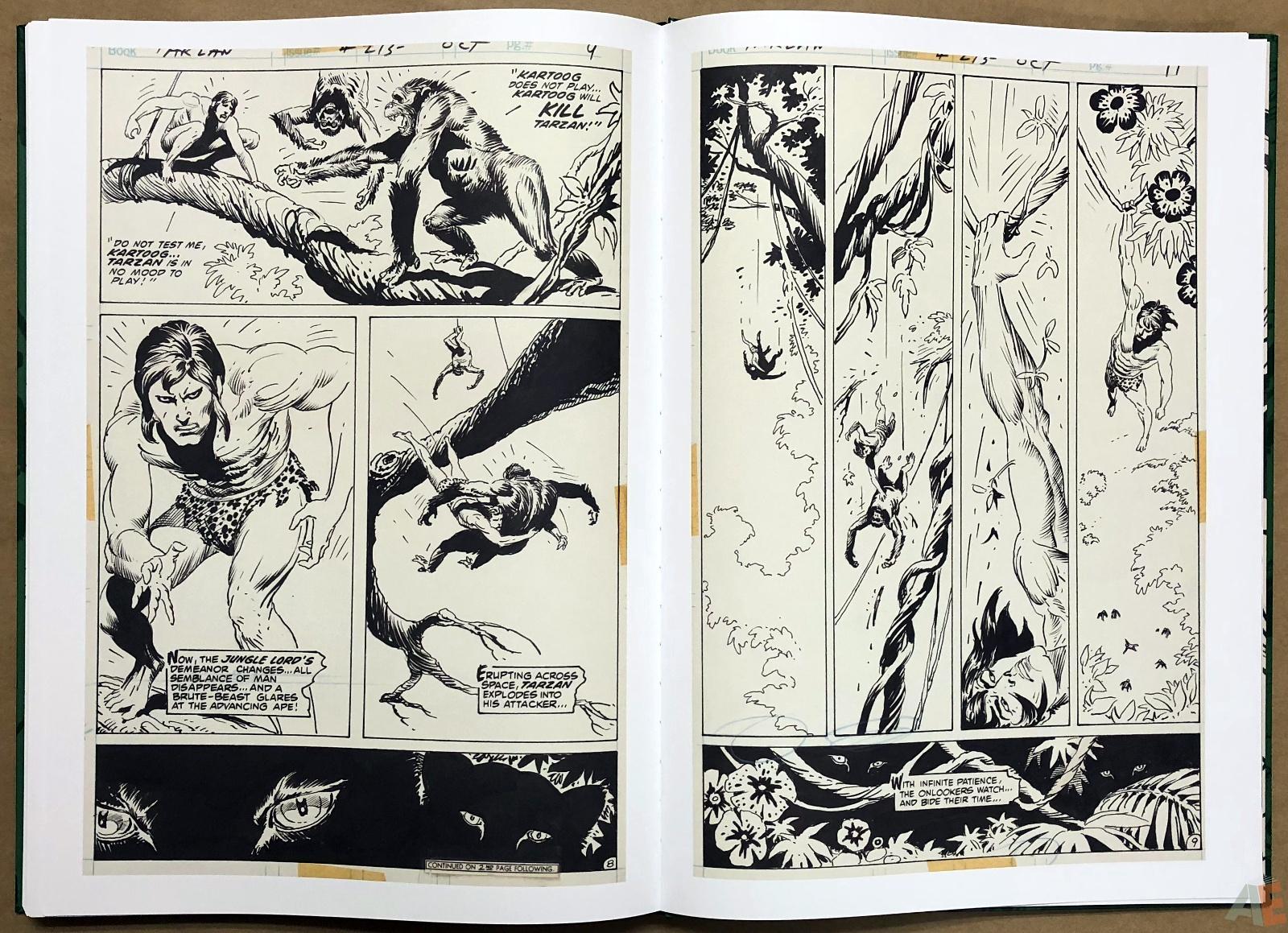 Joe Kubert's Tarzan of the Apes Artist's Edition 44