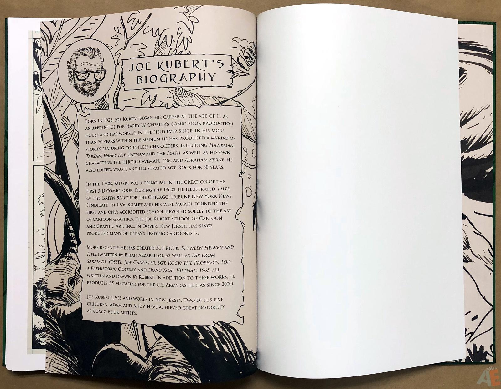 Joe Kubert's Tarzan of the Apes Artist's Edition 46